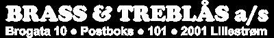 Brass og Treblås Logo